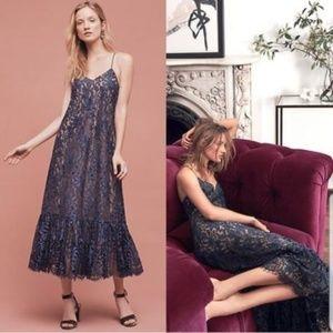 Moulinette Soeurs Anthropologie Lace Maxi Dress 4